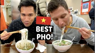 our first PHO and EGG COFFEE in Hanoi Vietnam -THE BEST-