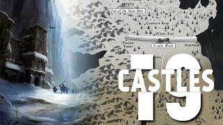 19 Castles of the Night-s Watch -Game of Thrones Map-