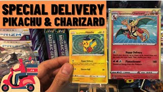-OPENING- SPECIAL DELIVERY PIKACHU - UPCOMING CHARIZARD - INVEST NOW