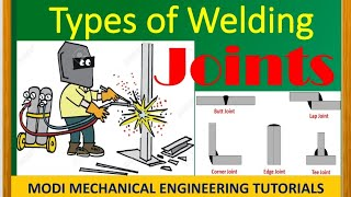 Types of Welding Joints - Weld Joints - Lap Joint - Butt Joint - Corner Joint - Tee Joint-metaljoint