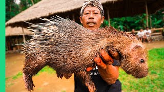 EXTREME BALI- RARE Sacred Animal Meal in Bali- Indonesia- -Once every ten years-