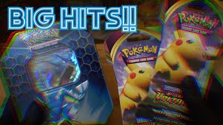 OPENING POKEMON CARDS UNTIL I PULL A RAINBOW PIKACHU -VIVID VOLTAGE VS HIDDEN FATES-