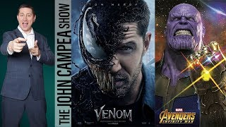 Avengers Infinity War Reviews- Venom Poster - The John Campea Show