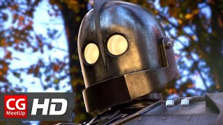 CGI VFX Animated Short Film- -The Iron Giant 2- by Christian Day - CGMeetup