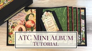 ATC Mini Album Tutorial
