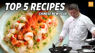 Top 5 Masterchef Recipes for Chinese New Year - Cooking Chinese Food - Taste Show